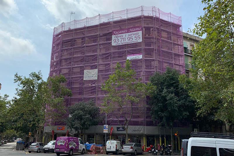 FACHADAS reforma casas exteriores viviendas construccion alamo barcelona cataluna sabadell.4.
