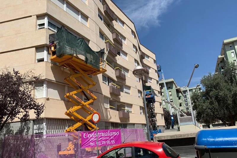 FACHADAS reforma casas exteriores viviendas construccion alamo barcelona cataluna sabadell.5.