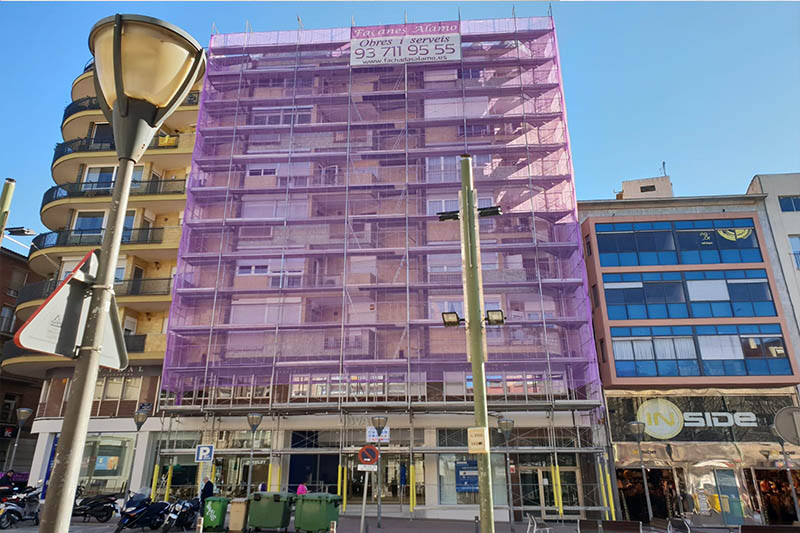 FACHADAS reforma casas exteriores viviendas construccion alamo barcelona cataluna sabadell