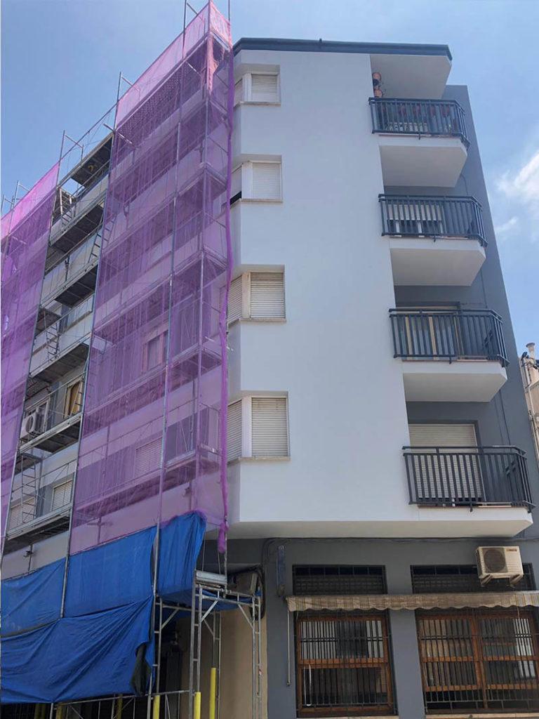 andamios reformas rehabilitacion edificios viviendas barcelona cataluna sabadell.2