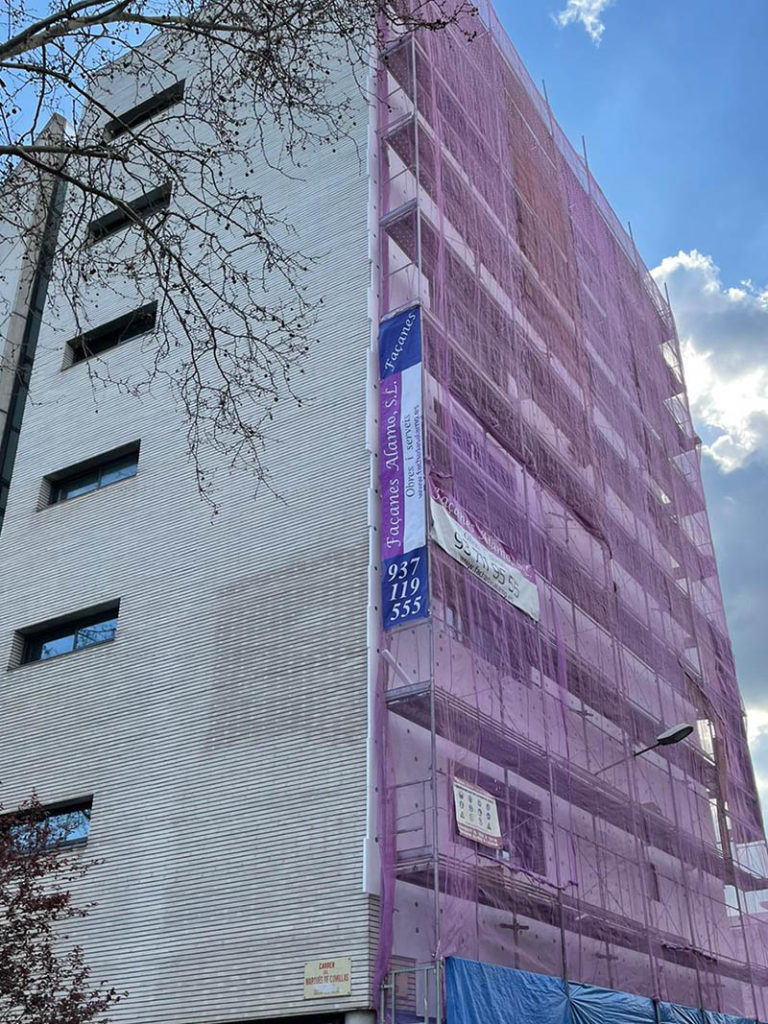 contruccion andamios reformas rehabilitacion edificios viviendas barcelona cataluna sabadell
