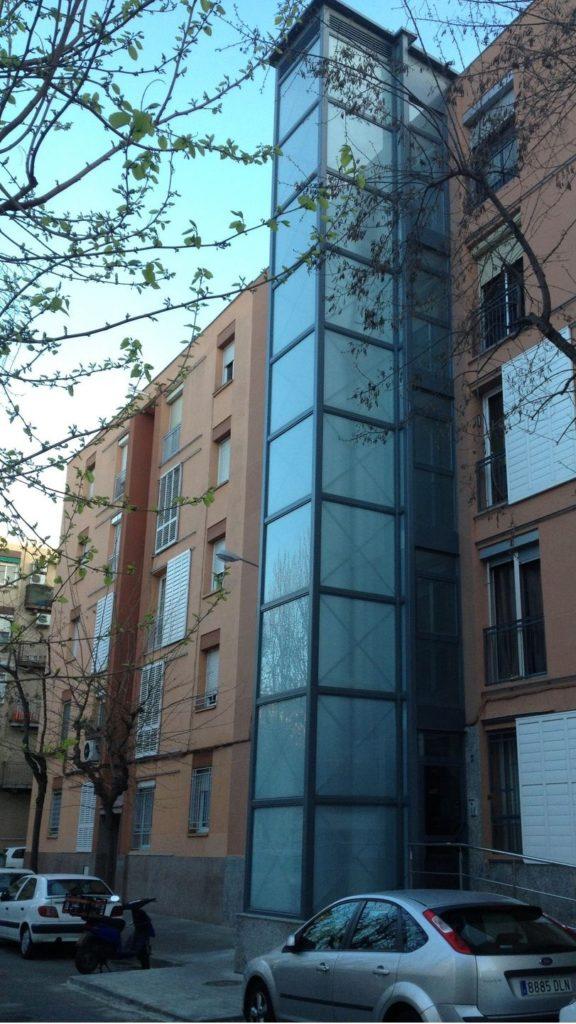 instalacion ascensores fachadas alamo rehabiitaciones construccion reforma sabadell cataluna barcelona
