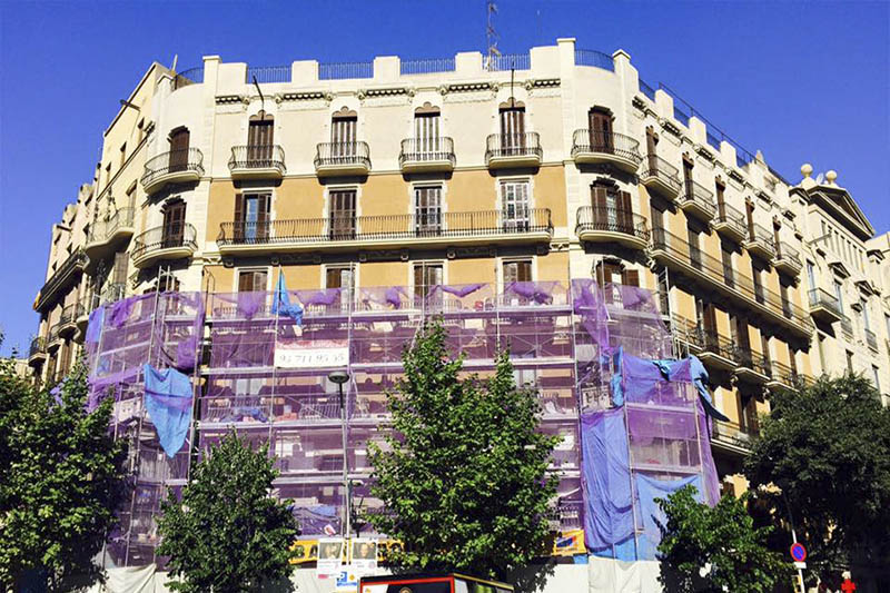 rehabilitacion fachadas alamo edificios andamios barcelona cataluna sabadell.10