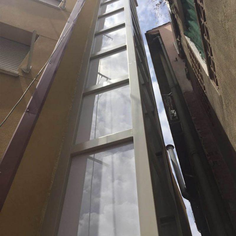 instalacion ascensores fachadas alamo rehabiitaciones construccion reforma sabadell cataluna barcelona.1